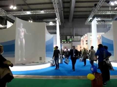 Installazione interattiva realizzata per la Regione Calabria in occasione della Borsa internazionale del Turismo 2011
