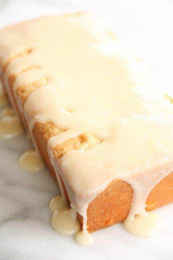 Easy Pound Cake recipe - substitute vanilla to make this lemon, almond, orange or lavender!