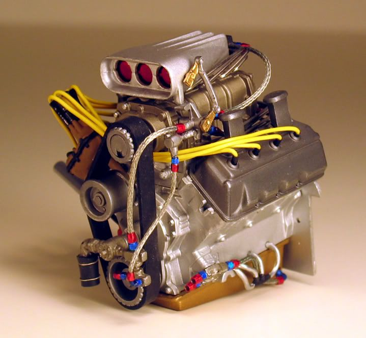 Model Car With Engine