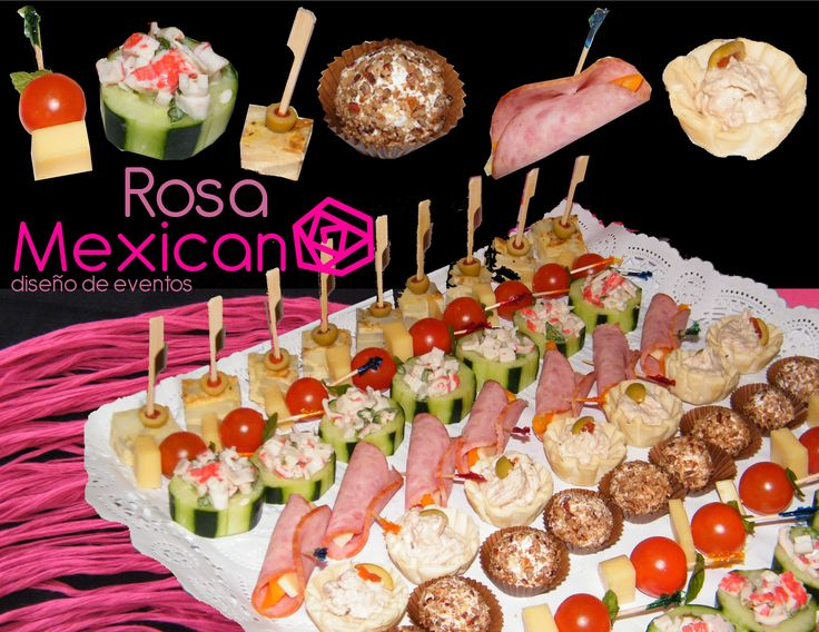 17 best images about canap s y bocaditos on pinterest for Canapes sencillos y rapidos