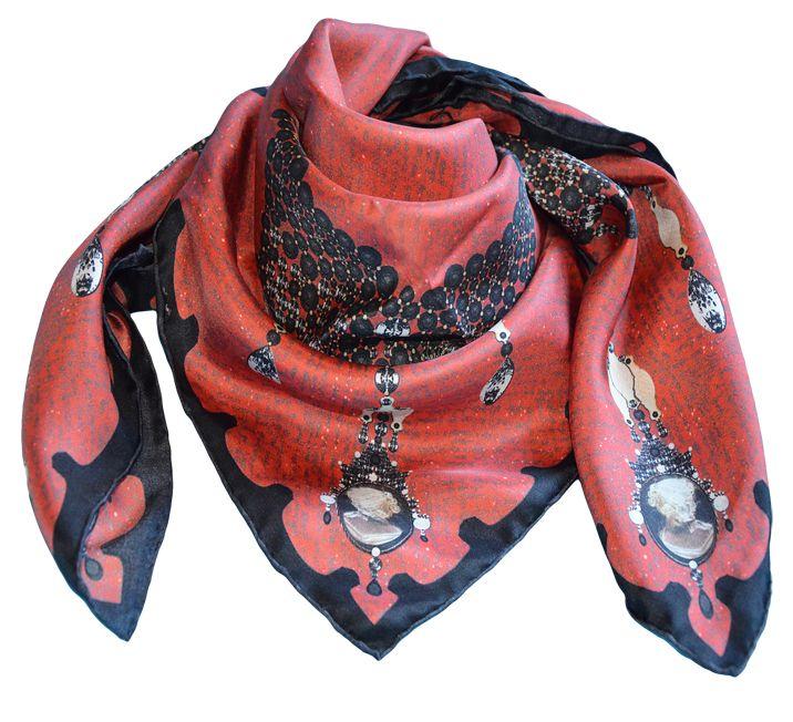 Madame de Maintenon!! Favorite.... rouge et noir.. Eleazar Ltd...