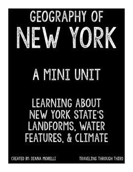 This product is a PDF file that discusses the landforms, water features, and climate of New York State.The product includes: - An article on Landforms in New York State- Homework Assignment to coincide with landforms article- An article about water features of New York State- Homework assignment to coincide with water features- An article about the weather and climate of New York State- Homework assignment to coincide with weather and climate- Interactive notebook vocabulary 4 square- Map…
