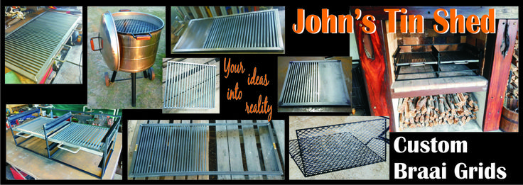 Various Custom Braai Grid designs for every specific requirement