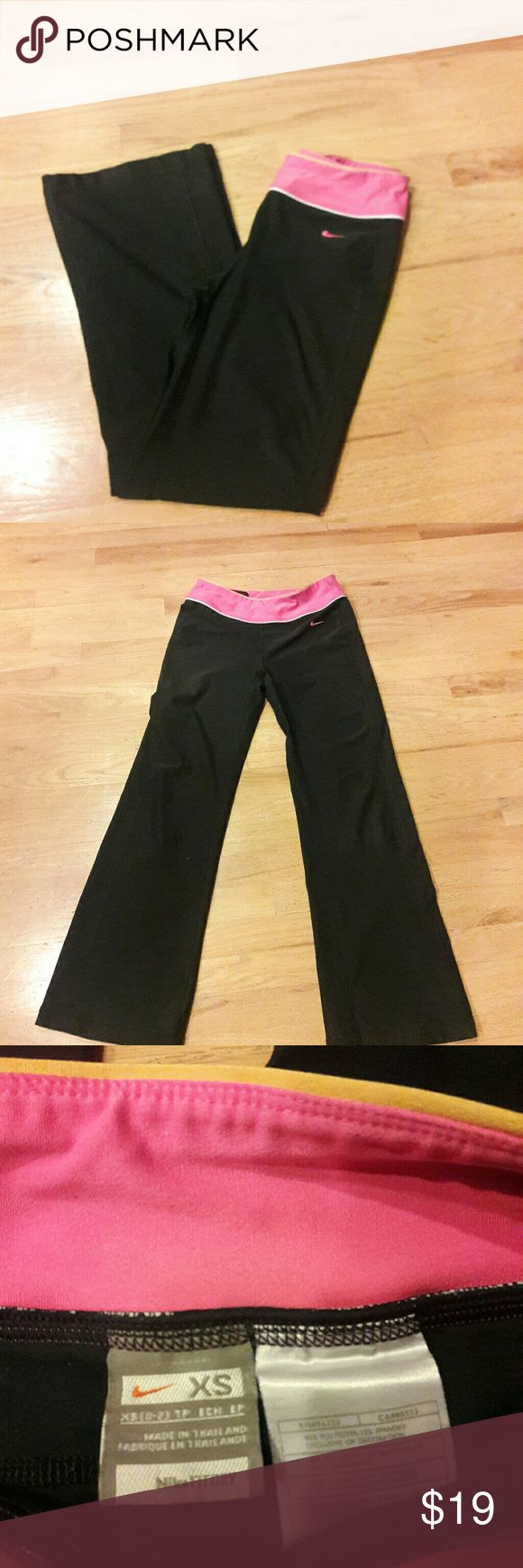 Nike Be Strong Women's training pants  Size XS Nike Be Strong Women's Size XS  Dri-Fit Training Pants Black Nike Pants