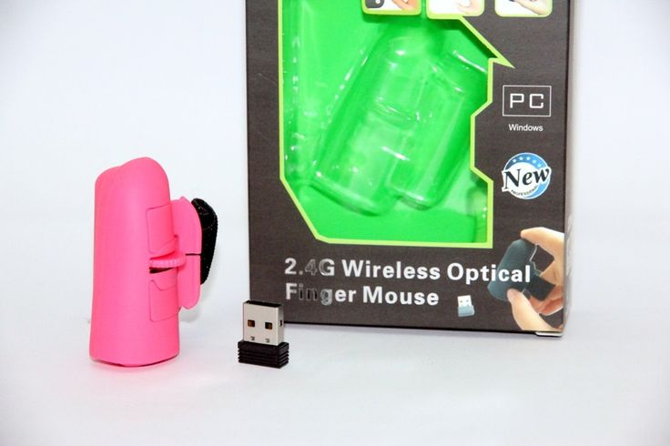 Mouse Jari Wireless – Finger Mouse Wireless Pink 125.000