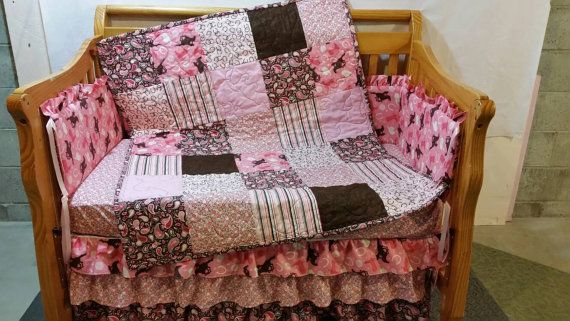 Western Crib Bedding Set Toddler Bedding Baby Sheets Crib