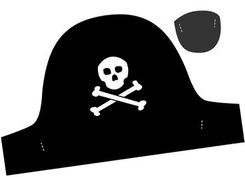 Preschool Crafts for Kids*: Pirate Hat Printable Craft