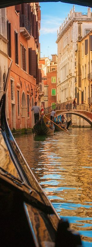 Gondola ride at Sunset - Venice | Italy ✈✈✈ Don't miss your chance to win a Free International Roundtrip Ticket to Milan, Italy from anywhere in the world **GIVEAWAY** ✈✈✈ https://thedecisionmoment.com/free-roundtrip-tickets-to-europe-italy-venice/