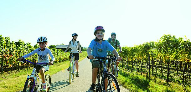 Családi biciklitúra Burgenlandban © Burgenland Tourismus, Peter Burgstaller