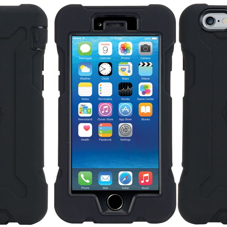 Gecko Rugged Classic. Built for life - Ultimate Protection! Super-tough, shock resistant, rugged all-round protection. The Rugged is exactly what your iPhone needs to withstand the harsh elements you'll encounter on worksites, campsites and in the great outdoors.