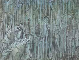 """Umberto Boccioni, """"Stati d'animo: Quelli che restano"""", 1911, Museum of Modern Art (MoMA), New York (NY)"""