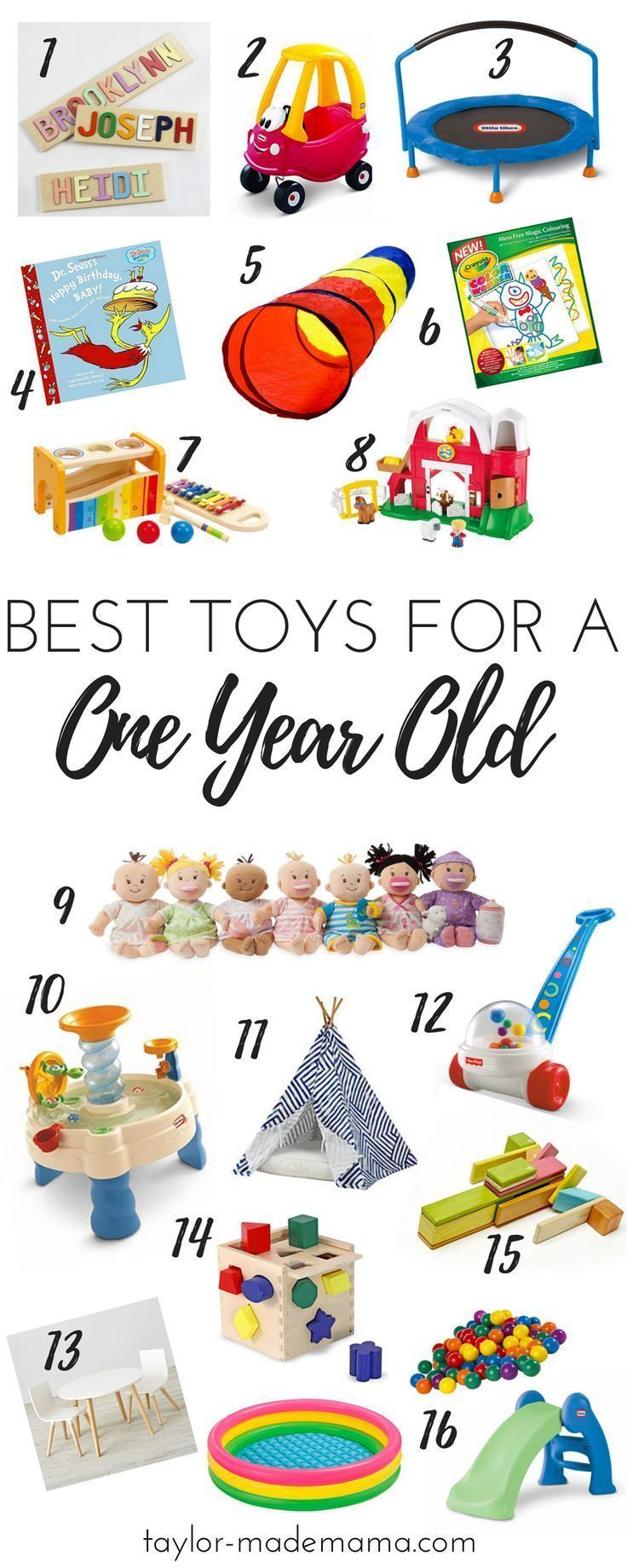 The Ultimate Gift Guide For A One Year Old Or 1st Birthday Party What To Buy 1 These Are Definitely Top Toys