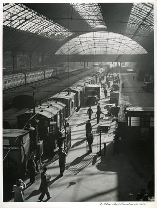 Liverpool Central Station in the 1960s