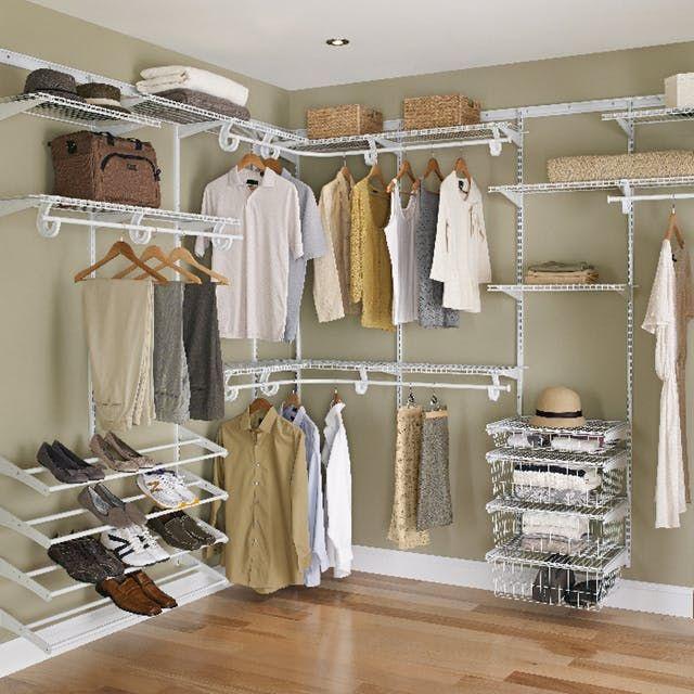 The Best Closet Systems Best Closet Systems Closet Maid Lowes