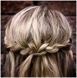 simple #braid #hair