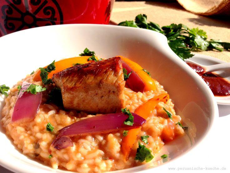 Pepian de pavo a la trujillana: Reiseintopf mit Putenfleisch Rezept und Fotos der Zubereitung: http://peruanische-kueche.de/pepian/ Kochen wie in Peru.