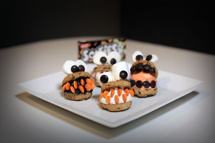 SMARTIES Cookie Monsters These delicious monsters have more mmm than bite!