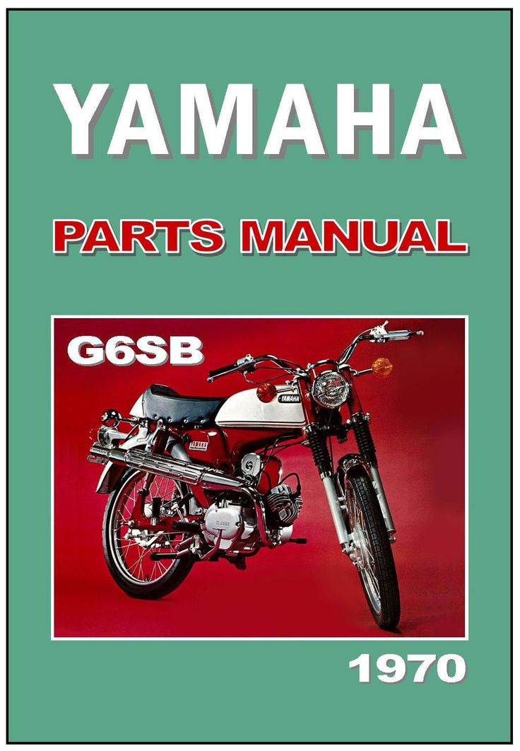 YAMAHA Parts Manual G6S G6-SB G6S-B 1970 1971 Spares Catalog List FS1