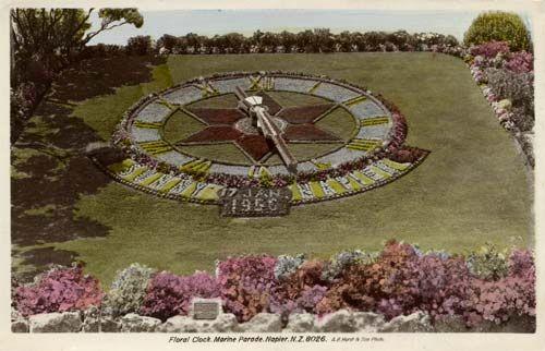 Floral clock, Napier