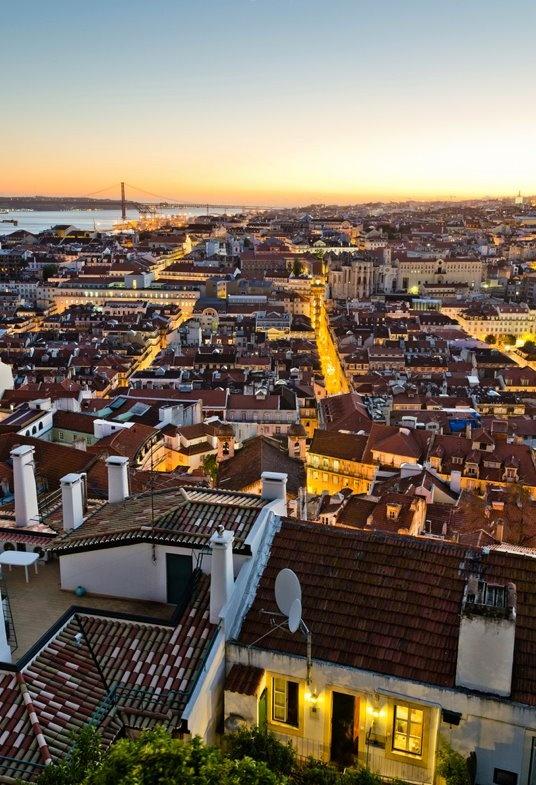 #Lisbon at Sunset - #PORTUGAL
