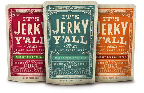 It S Jerky Y All Vegan Jerky Veganessentials Online Store Vegan Jerky Vegan Jerky