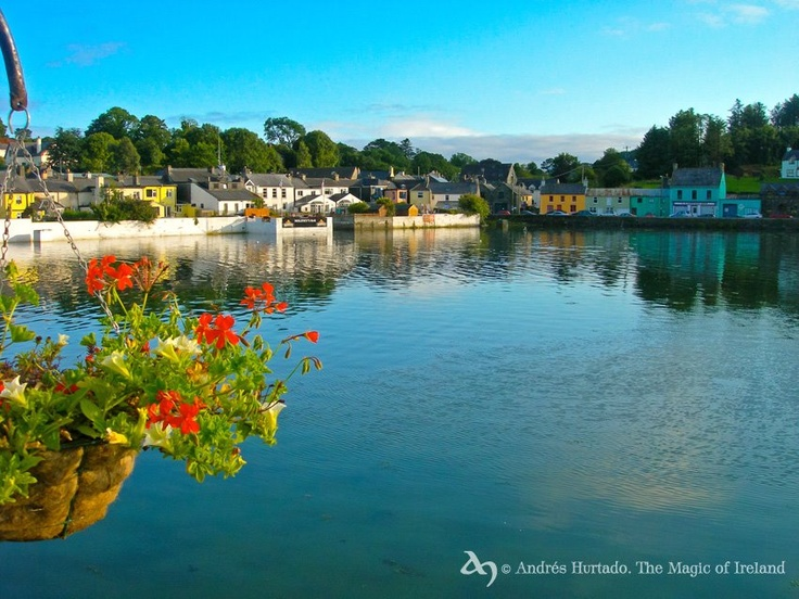 The beautiful coastal village of Union Hall in West Cork