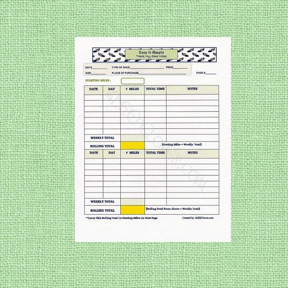 Best 25+ Track my miles ideas on Pinterest Long distance running - what is a mileage log