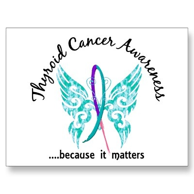 grunge tattoo butterfly 61 thyroid cancer postcard