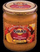 Tostitos zesty bean and cheese dip is my newest favorite dip. I must try this recipe because one jar just isn't enough!
