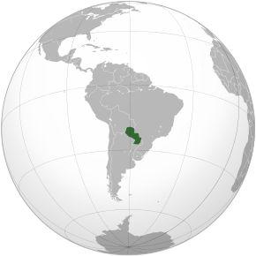 Amplasarea Paraguayului