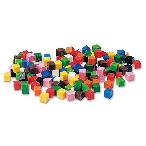 Learning Resources Centimeter Cubes, Set of 1000 - Centimeter Cubes are great tools for teaching kids counting, measuring and patterning. Set of 1,000 plastic one-centimeter cubes comes in 10 colors and stores in a convenient tub. activity guide included.