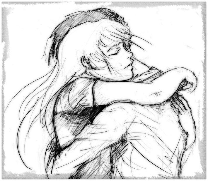 Image Result For Enamorados Dibujos A Lapiz Art Drawing People People Hugging