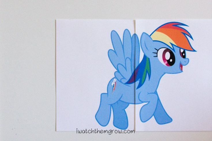 Free printable pin the tail on the pony game! Perfect for a My Little Pony party!