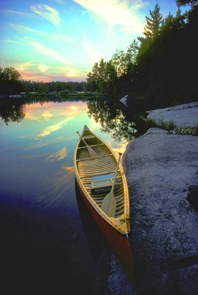 Minnesota Boundary Waters Canoe Area.  Hundreds and hundreds of miles of coastline, and thousands of campsites.