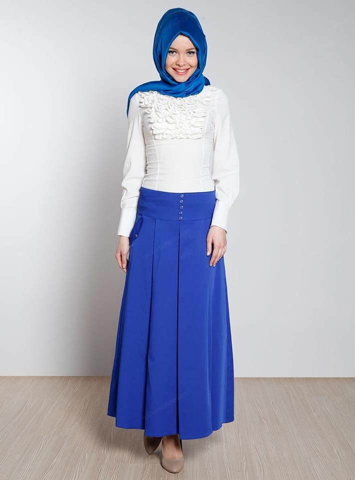 Hijab Turque Moderne hiver 2014