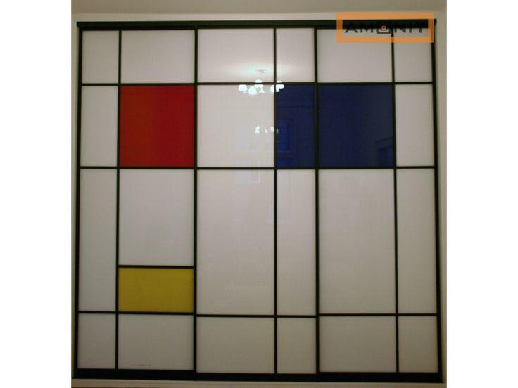 Kombinace barevných skel. www.amonit.cz
