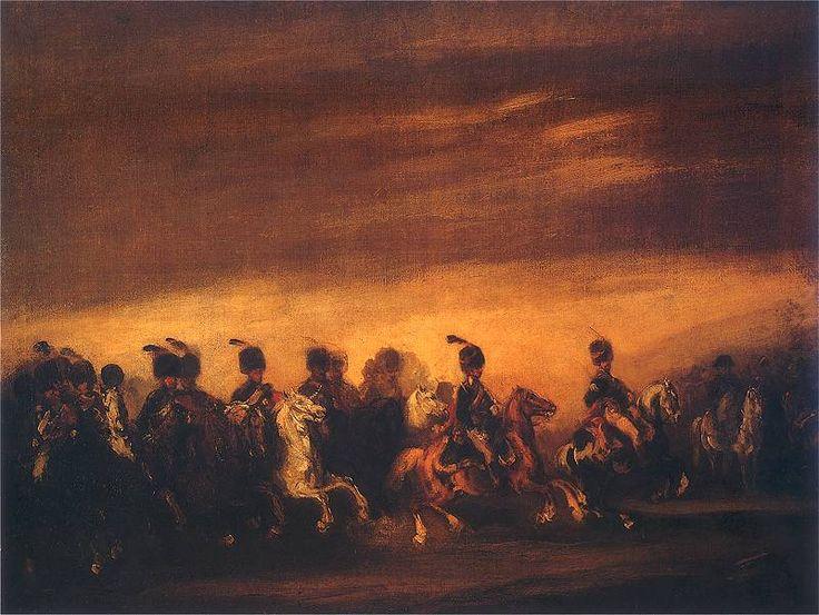 P. Małachowski - Defilada przed Napoleonem