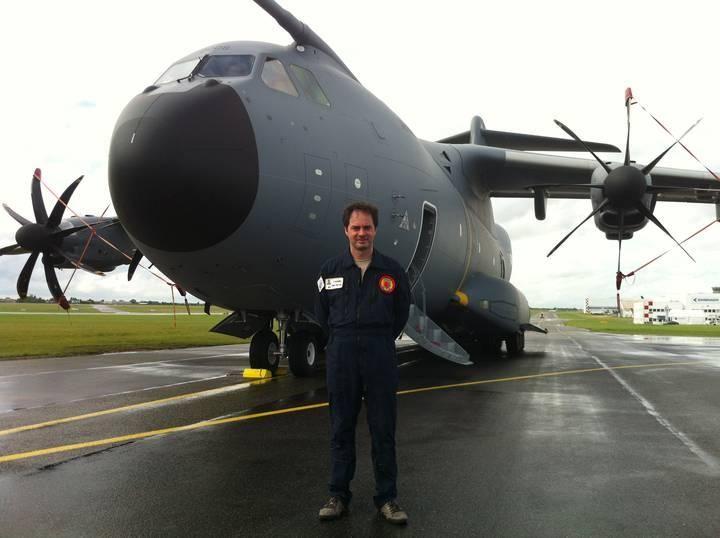 El ingeniero leonés de la joya militar de Airbus - León - Diario de León