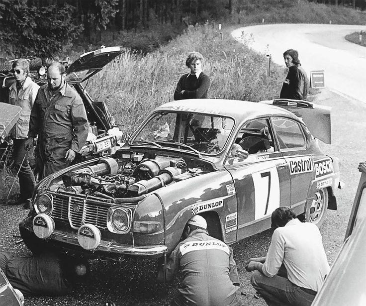 Saab 96 V4 Stig Blomqvist group 4 WRC 1970.