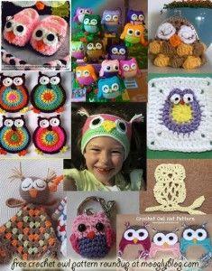 Ten *More* Free Crochet Owl Patterns