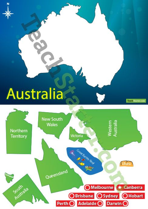 Help your students concrete their understanding of the map of Australia with this interactive game.