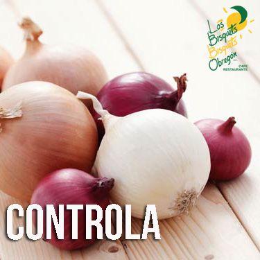 Consumir cebolla ayuda a controlar el azúcar de la sangre, gracias al cromo que contiene.  #BisquetsObregón #LBBO #Cebolla #Beneficios