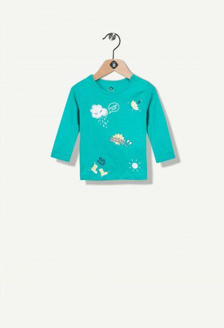 T-shirt fantasia patch Grain De Blé. Découvrez l'univers Grain De Blé, vêtements pour La selezione sur Z-Eshop