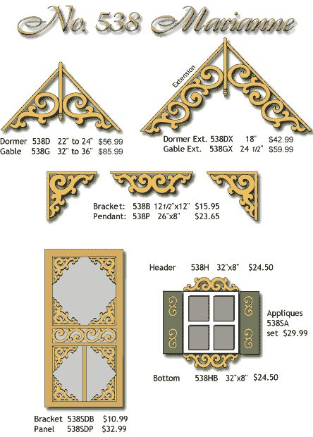victorian house trim - Google Search