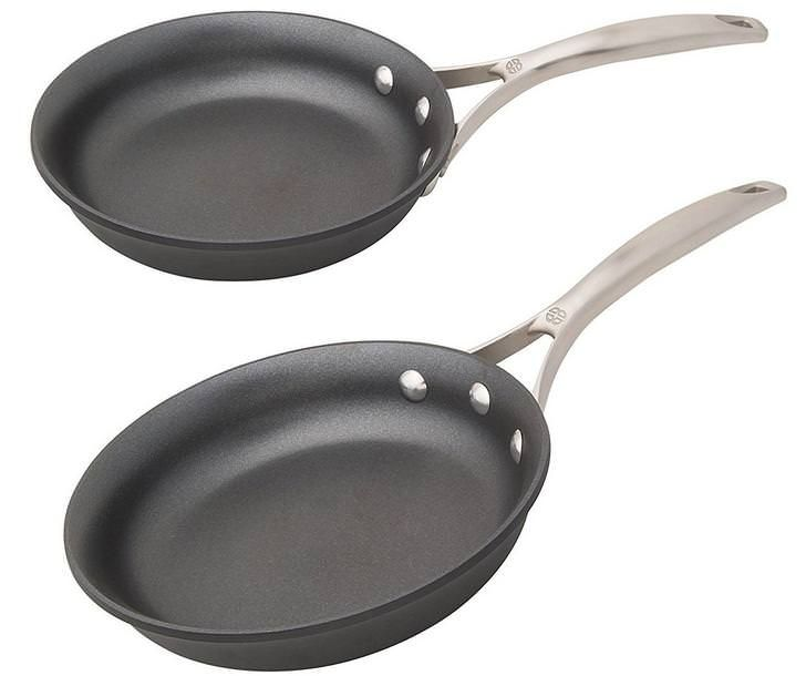 Calphalon Unison Nonstick Pan 8 Inch And 10 Inch Omelette Pan Set Pan Set Chicken Cutlets Best Skillet