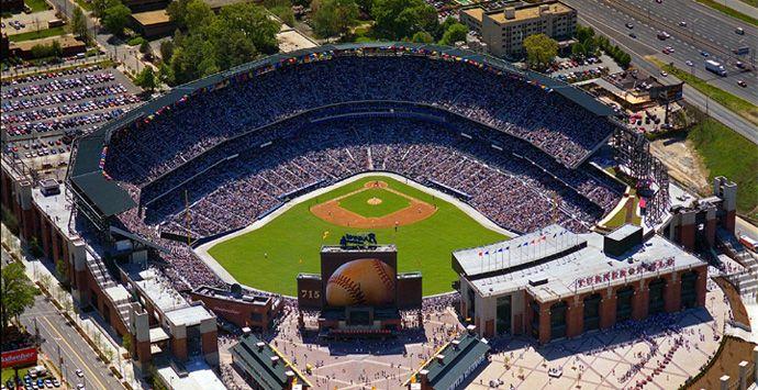 Turner Field, Atlanta, Georgia - Home of the Atlanta Braves