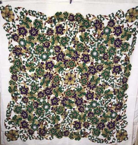 54f0bd7e4700 CHANEL Tuch Seide foulard scarf Stola stole silk soie carre geant ...