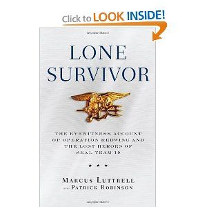 an examination of the book lone survivor by marcus luttrell But surprisingly, i was amazingly addicted to this book marcus luttrel (the author, who the story is about) the lone survivor, by marcus luttrell.