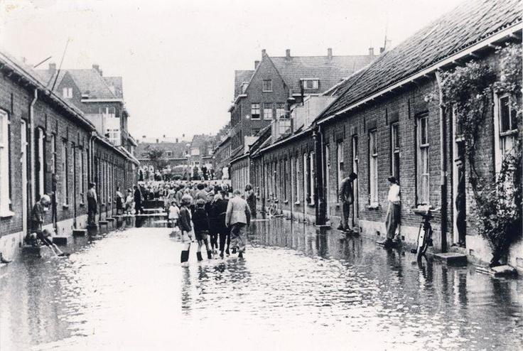 1953 Richting Slaghekstraat
