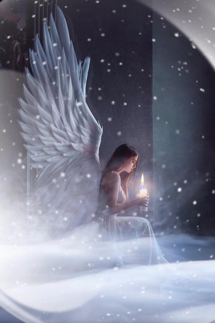 картинки с ангелами на ночь сразу